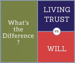 Trust vs will